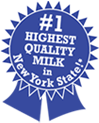 2010 #1 Highest Qaulity Milk in New York State